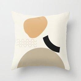 // Shape study #24 Throw Pillow