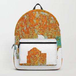 Greensboro, NC Skyline - Rust Backpack