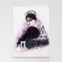 fairytale Stationery Cards featuring Fairytale by Alendro