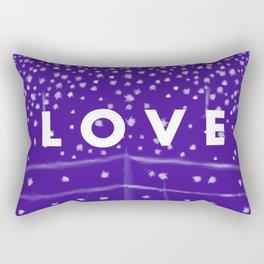 Whale Shark Love Rectangular Pillow