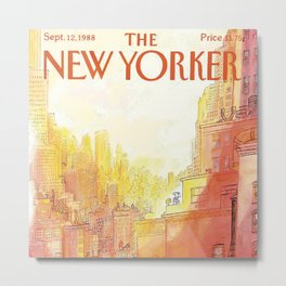 The New Yorker - 09/1988 Metal Print
