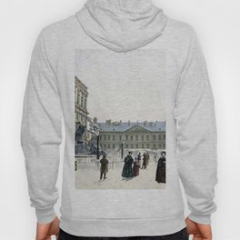 Schwarzenberg Palace 1832 by Rudolf von Alt | Reproduction Hoody