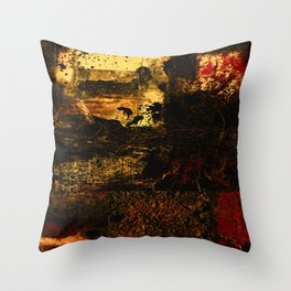 Encounters 32j by Kathy Morton Stanion Throw Pillow