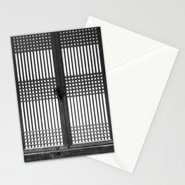 문 KOREAN Traditional door Stationery Cards