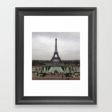 Eiffel Tower, Paris France Photography Framed Art Print