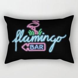 flamingo bar Rectangular Pillow