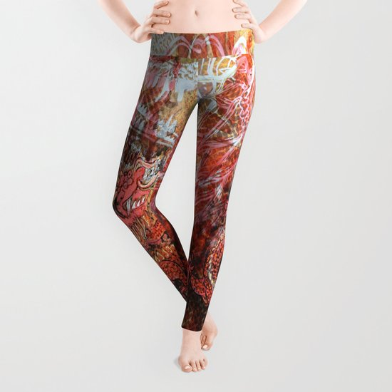 Awakening of the Dragon Leggings