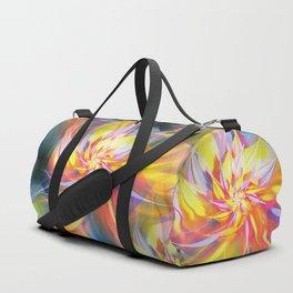 Fractal Flower Duffle Bag