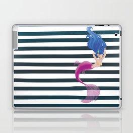 Stripy Mermaid Laptop & iPad Skin