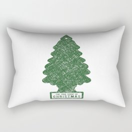 The True Scent of Christmas Rectangular Pillow