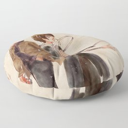 Undressing Your Wounds Floor Pillow