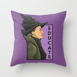 Educate Throw Pillow