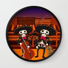 Mexico Mariachi Wall Clock