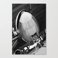 planes Canvas Prints featuring Planes by Janelle Jex