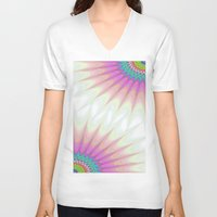 sunshine V-neck T-shirts featuring Sunshine by David Zydd