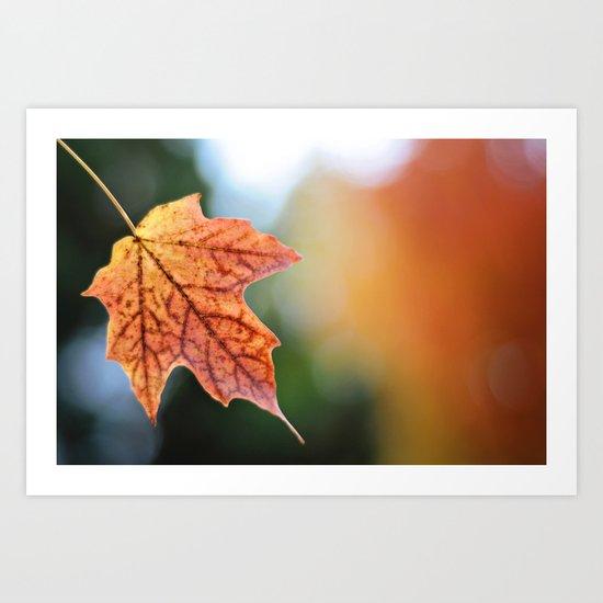 Autumn, the year's last, loveliest smile. Art Print