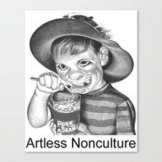 Artless Nonculture (Lowbrow) Canvas Print