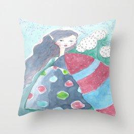 mabel's magic cloak Throw Pillow