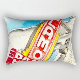 Alamo Drafthouse watercolor Rectangular Pillow
