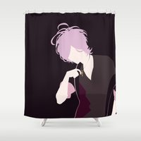 subaru Shower Curtains featuring Subaru by Polvo