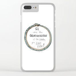 Ouroboros of the Witches Clear iPhone Case