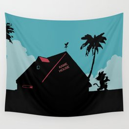 Kame House Wall Tapestry
