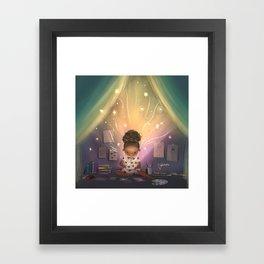 Creative Space Framed Art Print