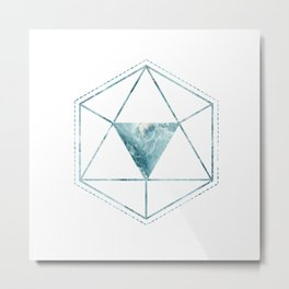 Triangular Metal Print