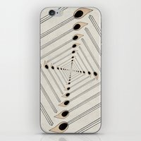 charmaine iPhone & iPod Skins featuring Playing with Matches by eye in the sky