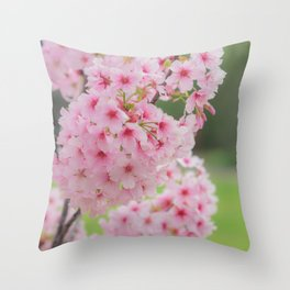 Pink is my signature color. Throw Pillow