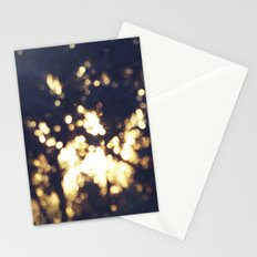 An Abstract Sunset Stationery Cards