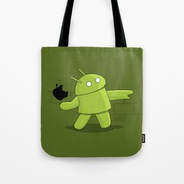 Bugdroid launcher Tote Bag