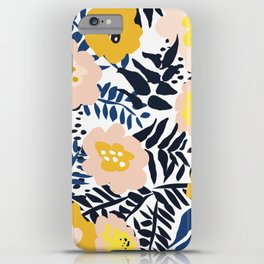 Outdoor: florals matching to design for a happy life iPhone Case