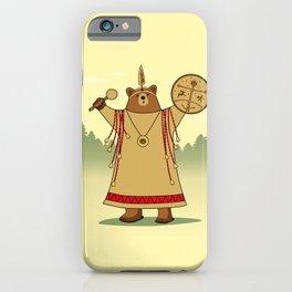 Bear Shaman iPhone Case