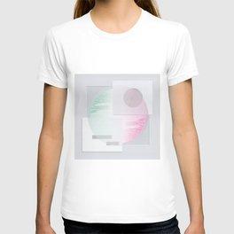Circle divided T-shirt