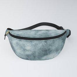 Blue thistle Fanny Pack