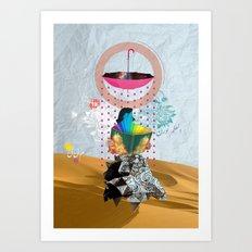 Desert Of Knowledge Art Print