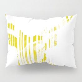 Geometric Yellow Stag Pillow Sham