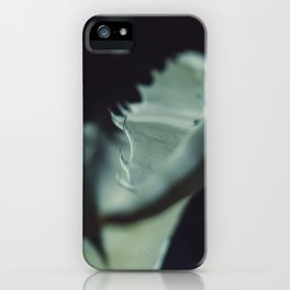 Aloe thorns iPhone Case