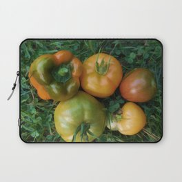 Fresh tomatoes and bell pepper Laptop Sleeve