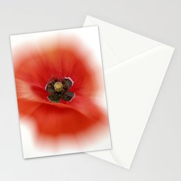 poppy zoom IX Stationery Cards