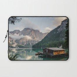 Mountain Lake Cabin Retreat Laptop Sleeve
