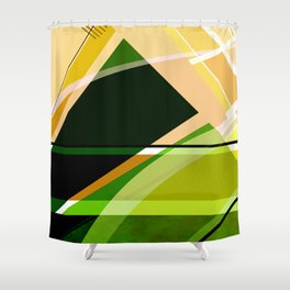 Abstract 2017 038 Shower Curtain