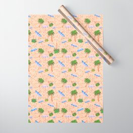Palm Tree Holiday Wrapping Paper