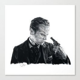 Victorian James Moriarty Canvas Print