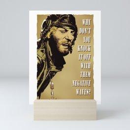 Kellys Heroes -  Oddball Says gold Mini Art Print