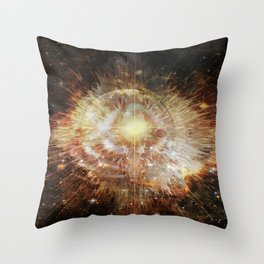 Planetary Soul Bodhi Throw Pillow