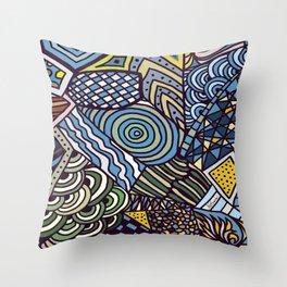 Midnight Wanderlust Zoom 1 Throw Pillow