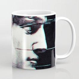 Abstract fractions of David Coffee Mug