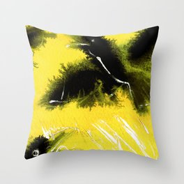 Totem Raven on the air Throw Pillow